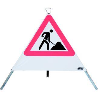 Faltsignal Warnpyramide