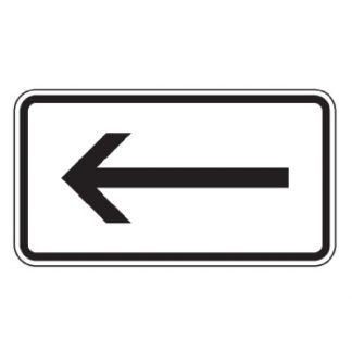 Richtung linksweisend - Verkehrszeichen nach StVO