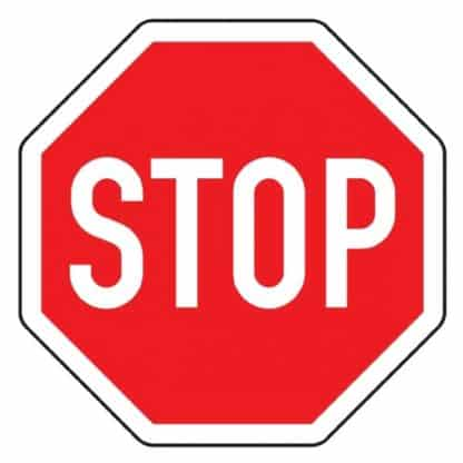 Halt Vorfahrt gewähren - Verkehrszeichen nach StVO
