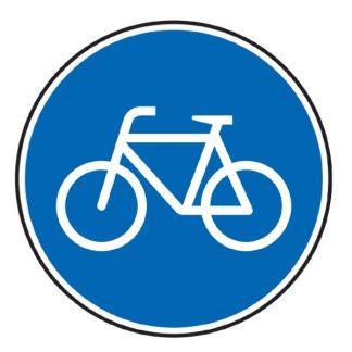 Sonderweg Radfahrer - Verkehrszeichen nach StVO